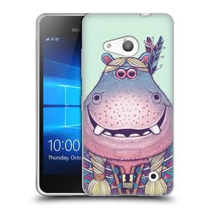 Silikonové pouzdro na mobil Microsoft Lumia 550 HEAD CASE ANIMPLA HROŠICE
