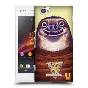 Plastové pouzdro na mobil Sony Xperia M C1905 HEAD CASE ANIMPLA LENOCHOD