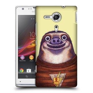 Plastové pouzdro na mobil Sony Xperia SP C5303 HEAD CASE ANIMPLA LENOCHOD