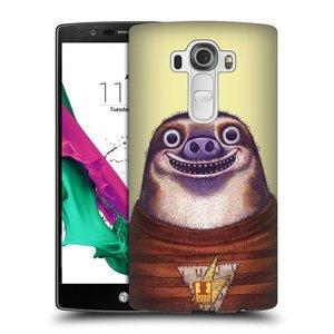 Plastové pouzdro na mobil LG G4 HEAD CASE ANIMPLA LENOCHOD