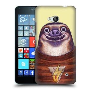 Plastové pouzdro na mobil Microsoft Lumia 640 HEAD CASE ANIMPLA LENOCHOD