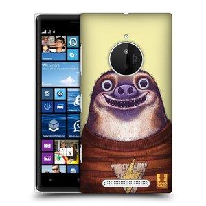 Plastové pouzdro na mobil Nokia Lumia 830 HEAD CASE ANIMPLA LENOCHOD