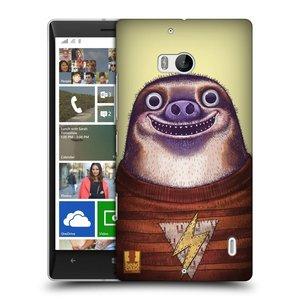 Plastové pouzdro na mobil Nokia Lumia 930 HEAD CASE ANIMPLA LENOCHOD