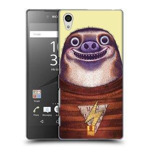 Plastové pouzdro na mobil Sony Xperia Z5 HEAD CASE ANIMPLA LENOCHOD