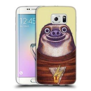 Silikonové pouzdro na mobil Samsung Galaxy S6 Edge HEAD CASE ANIMPLA LENOCHOD