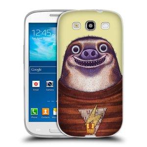 Silikonové pouzdro na mobil Samsung Galaxy S3 Neo HEAD CASE ANIMPLA LENOCHOD
