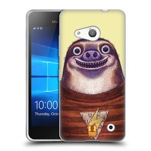 Silikonové pouzdro na mobil Microsoft Lumia 550 HEAD CASE ANIMPLA LENOCHOD