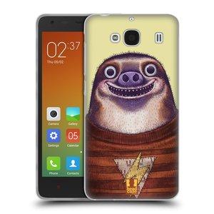 Silikonové pouzdro na mobil Xiaomi Redmi 2 HEAD CASE ANIMPLA LENOCHOD