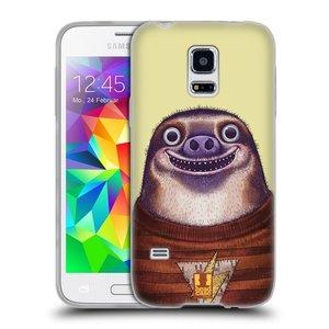 Silikonové pouzdro na mobil Samsung Galaxy S5 Mini HEAD CASE ANIMPLA LENOCHOD