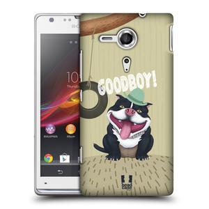 Plastové pouzdro na mobil Sony Xperia SP C5303 HEAD CASE Goodboy! Pejsek