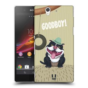 Plastové pouzdro na mobil Sony Xperia Z C6603 HEAD CASE Goodboy! Pejsek