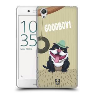 Plastové pouzdro na mobil Sony Xperia X Performance HEAD CASE Goodboy! Pejsek