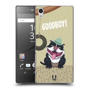 Plastové pouzdro na mobil Sony Xperia Z5 HEAD CASE Goodboy! Pejsek