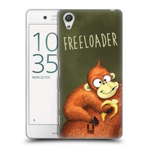 Plastové pouzdro na mobil Sony Xperia X Performance HEAD CASE Opičák Freeloader