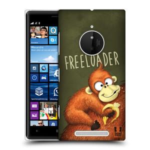 Plastové pouzdro na mobil Nokia Lumia 830 HEAD CASE Opičák Freeloader