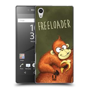 Plastové pouzdro na mobil Sony Xperia Z5 HEAD CASE Opičák Freeloader