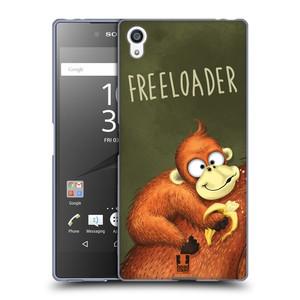 Silikonové pouzdro na mobil Sony Xperia Z5 Premium HEAD CASE Opičák Freeloader