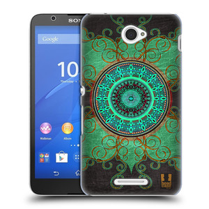 Plastové pouzdro na mobil Sony Xperia E4 E2105 HEAD CASE ARAB MANDALA