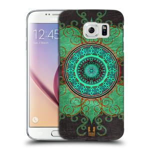 Plastové pouzdro na mobil Samsung Galaxy S6 HEAD CASE ARAB MANDALA