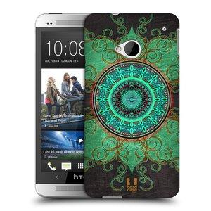 Plastové pouzdro na mobil HTC ONE M7 HEAD CASE ARAB MANDALA