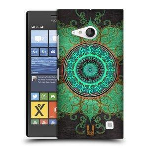 Plastové pouzdro na mobil Nokia Lumia 735 HEAD CASE ARAB MANDALA