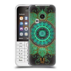 Silikonové pouzdro na mobil Nokia 220 HEAD CASE ARAB MANDALA