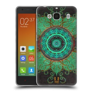Silikonové pouzdro na mobil Xiaomi Redmi 2 HEAD CASE ARAB MANDALA