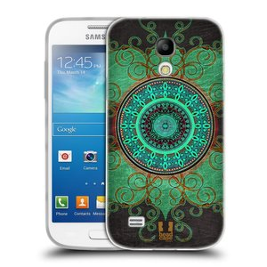 Silikonové pouzdro na mobil Samsung Galaxy S4 Mini HEAD CASE ARAB MANDALA