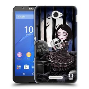 Plastové pouzdro na mobil Sony Xperia E4 E2105 HEAD CASE MACABRE HŘBITOV