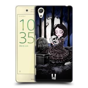 Plastové pouzdro na mobil Sony Xperia X HEAD CASE MACABRE HŘBITOV