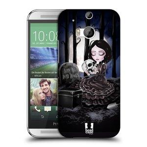 Plastové pouzdro na mobil HTC ONE M8 HEAD CASE MACABRE HŘBITOV