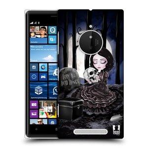 Plastové pouzdro na mobil Nokia Lumia 830 HEAD CASE MACABRE HŘBITOV