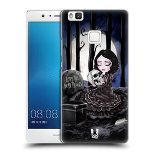Plastové pouzdro na mobil Huawei P9 Lite HEAD CASE MACABRE HŘBITOV