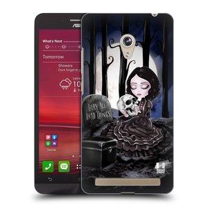 Plastové pouzdro na mobil Asus Zenfone 6 HEAD CASE MACABRE HŘBITOV