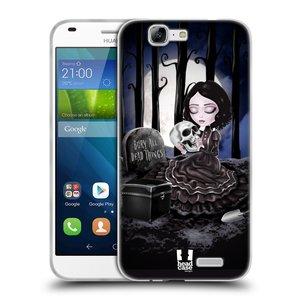 Silikonové pouzdro na mobil Huawei Ascend G7 HEAD CASE MACABRE HŘBITOV