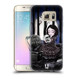 Silikonové pouzdro na mobil Samsung Galaxy S7 Edge HEAD CASE MACABRE HŘBITOV