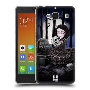 Silikonové pouzdro na mobil Xiaomi Redmi 2 HEAD CASE MACABRE HŘBITOV