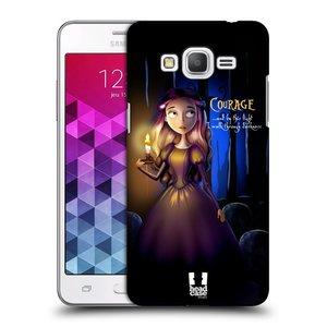 Plastové pouzdro na mobil Samsung Galaxy Grand Prime HEAD CASE MACABRE COURAGE