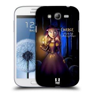 Plastové pouzdro na mobil Samsung Galaxy Grand Neo Plus HEAD CASE MACABRE COURAGE
