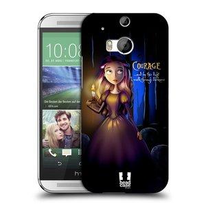 Plastové pouzdro na mobil HTC ONE M8 HEAD CASE MACABRE COURAGE