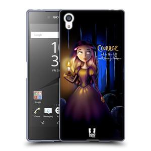 Silikonové pouzdro na mobil Sony Xperia Z5 Premium HEAD CASE MACABRE COURAGE
