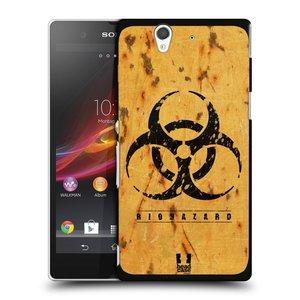 Plastové pouzdro na mobil Sony Xperia Z C6603 HEAD CASE BIOHAZARD REZ