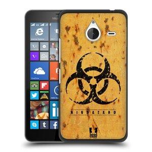 Plastové pouzdro na mobil Microsoft Lumia 640 XL HEAD CASE BIOHAZARD REZ