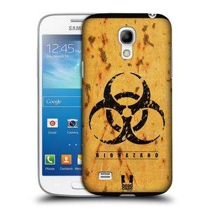 Plastové pouzdro na mobil Samsung Galaxy S4 Mini VE HEAD CASE BIOHAZARD REZ