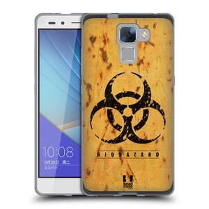 Silikonové pouzdro na mobil Honor 7 HEAD CASE BIOHAZARD REZ