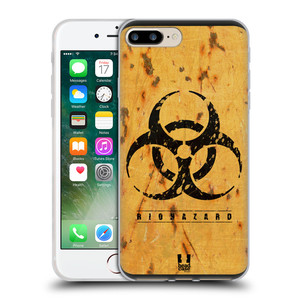 Silikonové pouzdro na mobil Apple iPhone 7 Plus HEAD CASE BIOHAZARD REZ