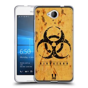 Silikonové pouzdro na mobil Microsoft Lumia 650 HEAD CASE BIOHAZARD REZ