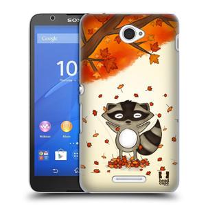Plastové pouzdro na mobil Sony Xperia E4 E2105 HEAD CASE PODZIMNÍ MÝVAL