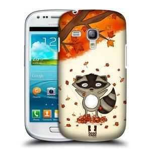 Plastové pouzdro na mobil Samsung Galaxy S III Mini HEAD CASE PODZIMNÍ MÝVAL