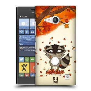 Plastové pouzdro na mobil Nokia Lumia 735 HEAD CASE PODZIMNÍ MÝVAL